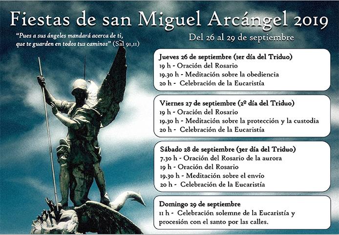 Fiestas de San Miguel Arcángel 2019